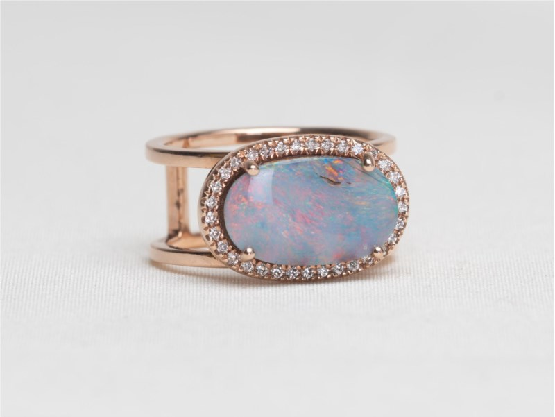 Colored Stone Ring by Parle
