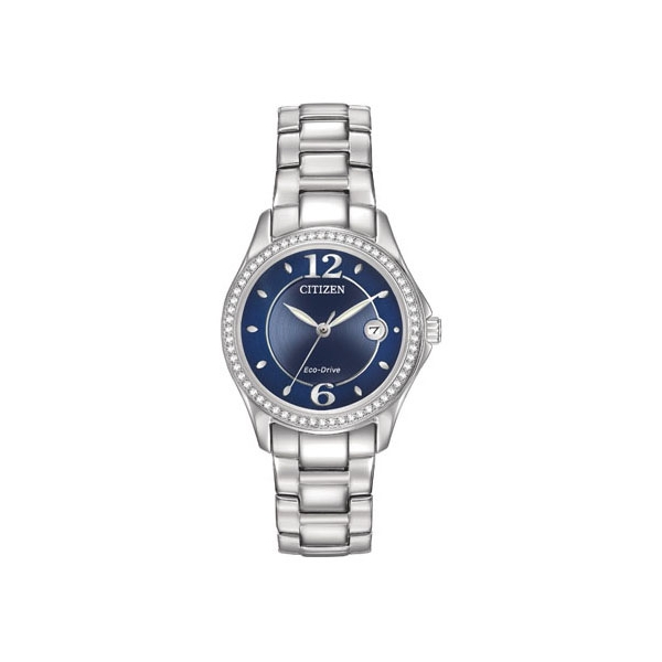 Citizen Silhouette Crystal Eco Drive Watch by Citizen Eco Drive