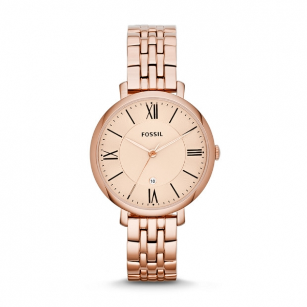 Fossil Jacqueline Rose Tone Watch by Fossil