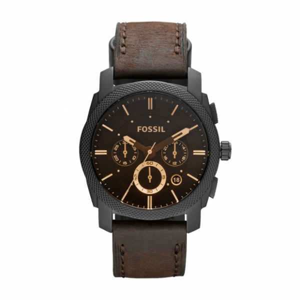 Fossil Machine Mid Size Chronograph Watch by Fossil
