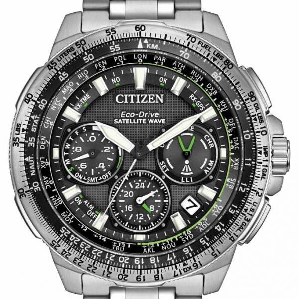 Citizen Eco Drive Promaster Navihawk GPS Watch by Citizen Eco Drive