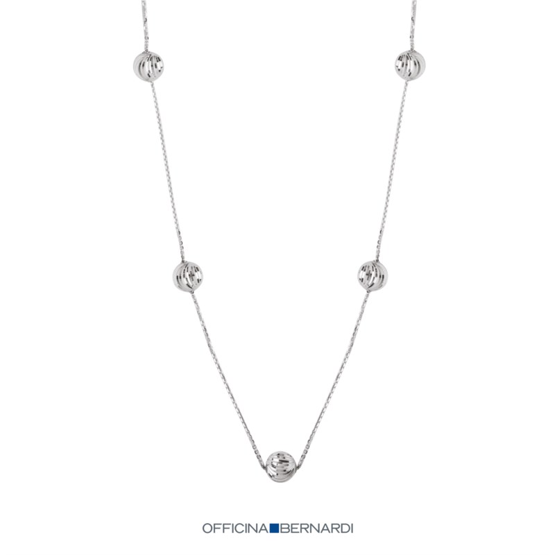Silver Chains/Necklaces by Officina Bernardi