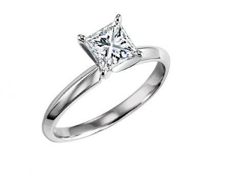 1/2 ct P Cut solitaire Ring : 5622E by Bridal Bells