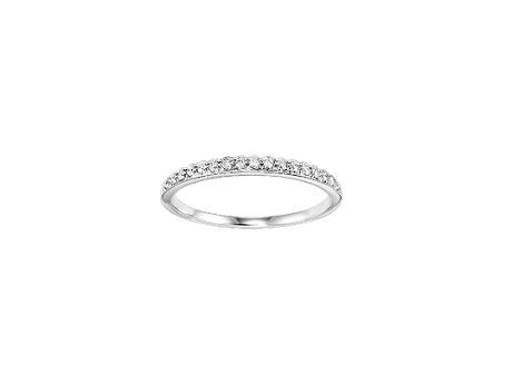 Loveables April Birthstone Diamond Ring Stackable Mothers Ring by Loveables