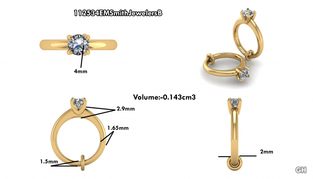 Custom Jewelry Design EM Smith Jewelers Chillicothes Home for